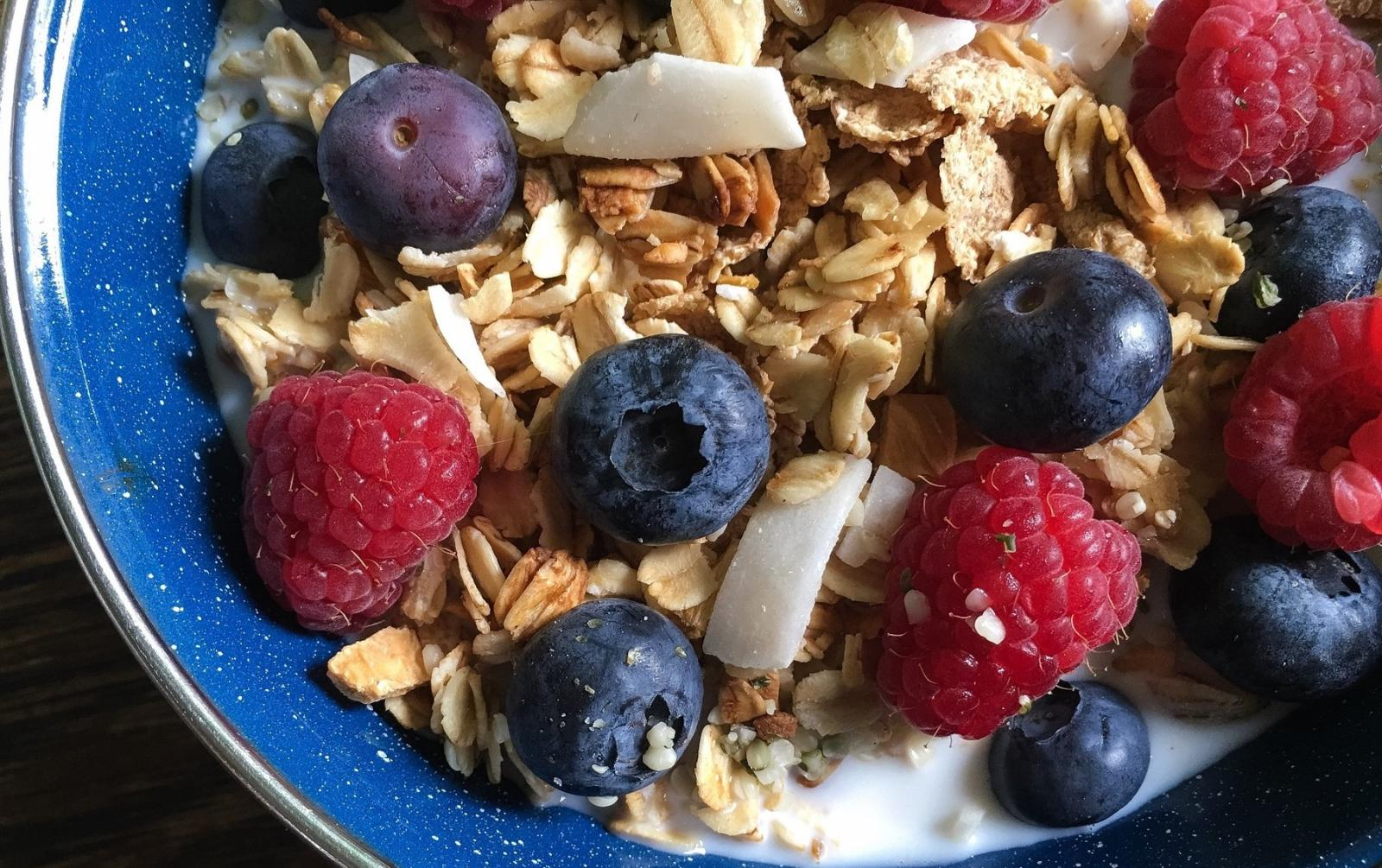 Muesli fruits rouges bio
